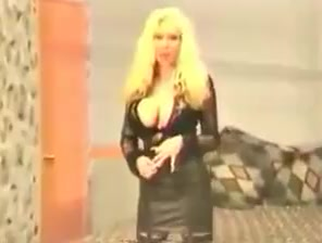 Big boobed Elizabeth Starr stirips and pounds her pussy trish stratus naked picture