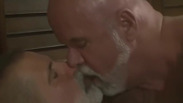 Two white bearded daddys love Leave in vibrator