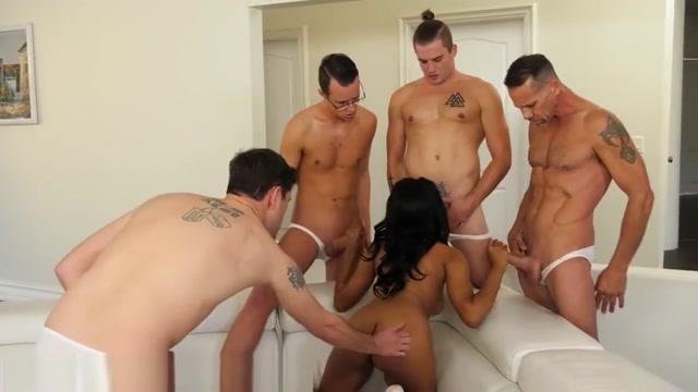 Jenna Foxx Gangbang with 4 Big Cocks That Blow All Over Her!! Sexy locals in Capitan Pablo Lagerenza