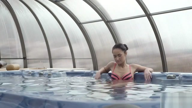OLD4K. Old lover nicely penetrates black-haired chick from behind my mom s fucking a