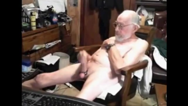 grandpa big tool Food In Asshole Porn