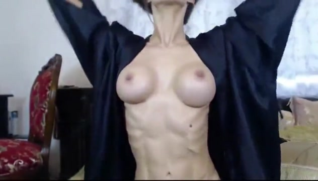 Sexy Webcam Brunette #2 black girl gets anal fucked