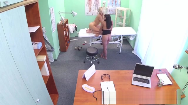 Doctors turn to get his hands full and his cock deep