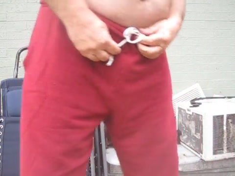 Old man pissing outdoors again Cfnm milf fuck