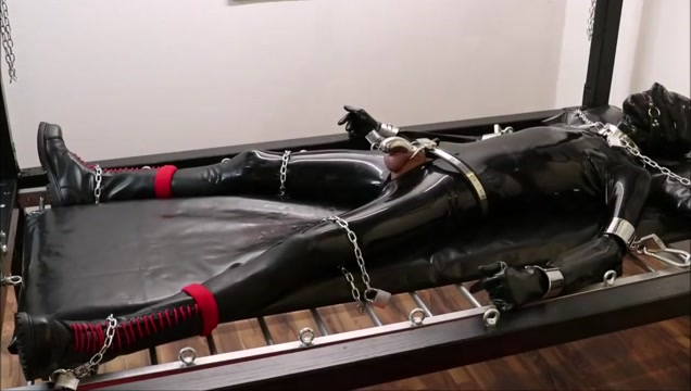 rubber gimp needs cbt Hd amature tube