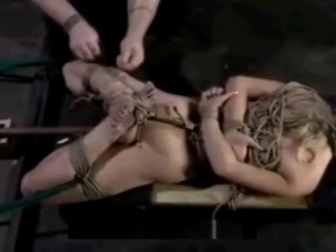 Nicki Blue bondage penetration Brianna love interracial sex