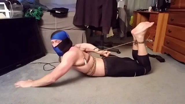 Self Hogtie videos of sensual massage