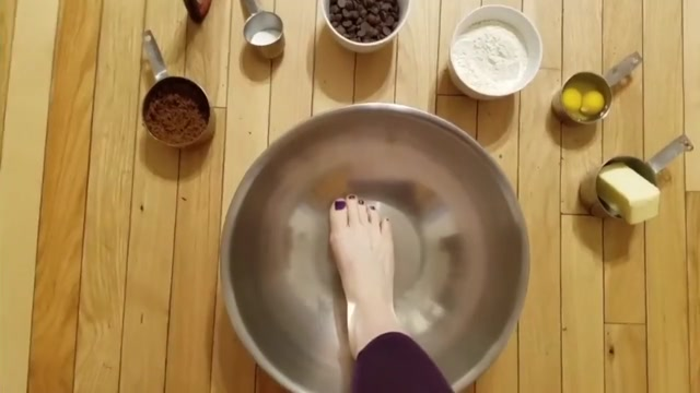 Bizarre Foot Fetish Request, Making Cookies with My Feet!