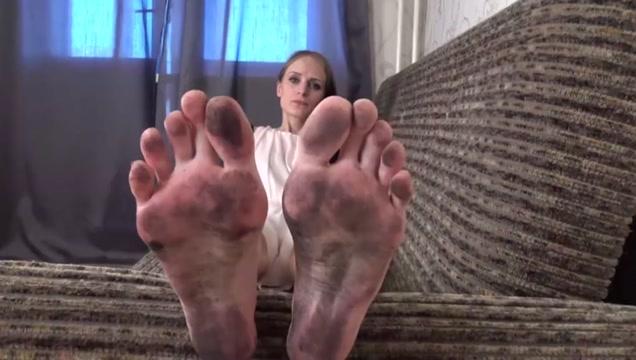 Ultra dirty feet cleaning ass make it bigger