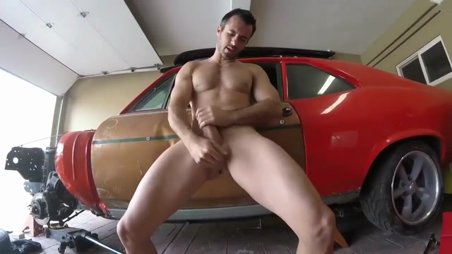 Horny Mechanic Shows Off The Biggest Tool In His Box! Swinging in st thomas