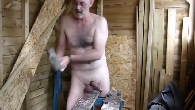 Sledge Hammer Cum gallery gay kissing man