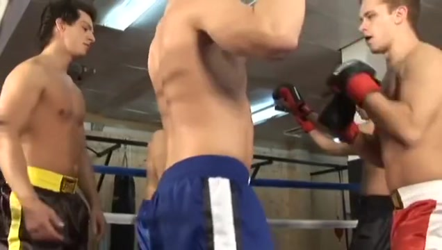 Czech boys in the boxing ring. free american pie naked mile galleries