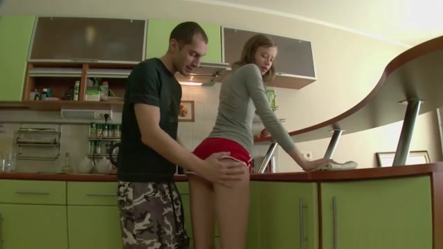FHUTA - Bent over the Counter and Fucked from Behind Real asian women porn