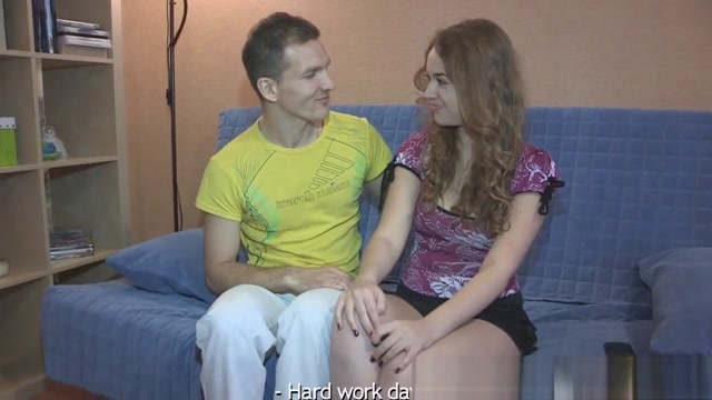 Cockriding Euro Teen Cuckolds Her Boyfriend Bitchy wife fuck tubes
