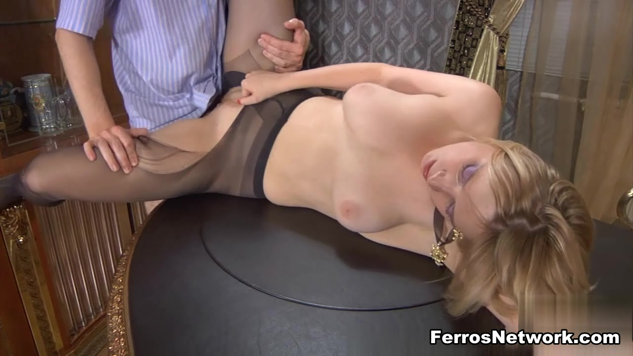 MaturesAndPantyhose Movie: Susanna M and Jerome A Pakistani fucking white woman