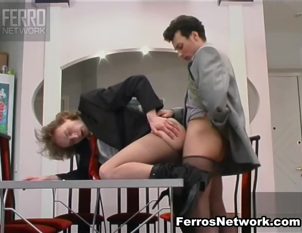 TryPantyhose Movie: Randolph and George Fisting lesbians pleasing their pussies