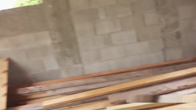 Busty Teen Flashes In Abandone Mansion