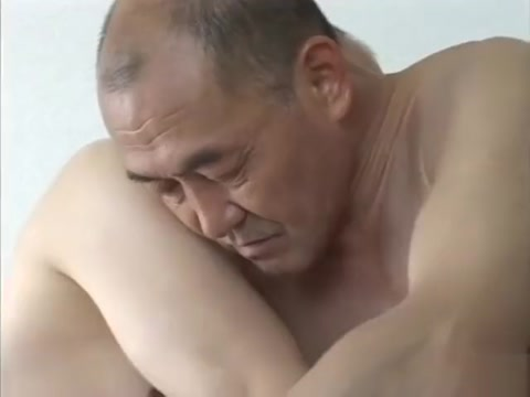 Japanese old man 353 bouncing boobs under silk nighty