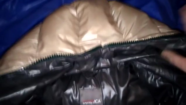 Cum on shiny Jacket What keys to copy