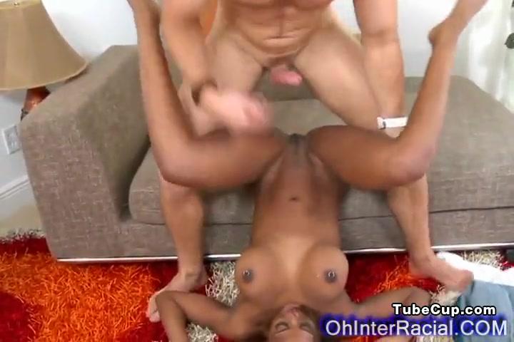 sexy ebony babe gets hard fucked