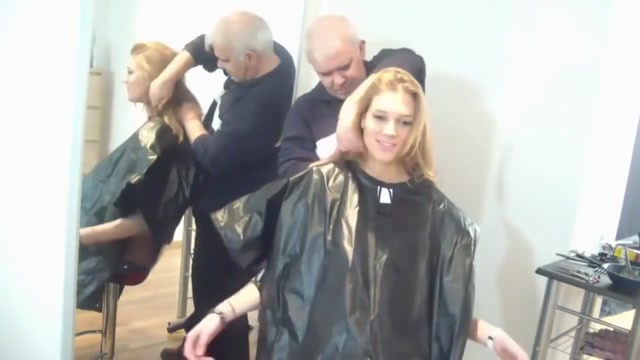super cute girls gets a good shampoo scrub Babe gives hunk a wild quickie oraljob