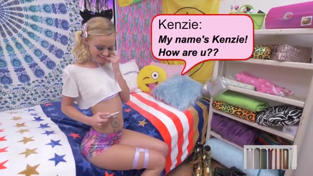 Kinky little Kezlee fairy finds her dirty master