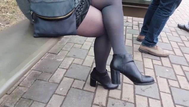 Black pantyhose Yes Miss