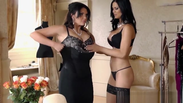 Clothed MILFs fucking him to bits