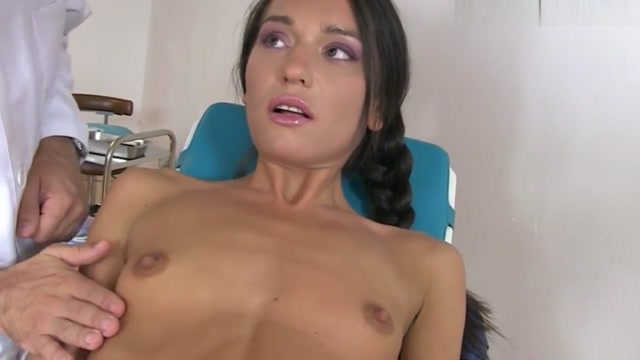 Tight Teen Nataly Gold Asshole Rammed By Pervert Doctor Tantus flame vibrator