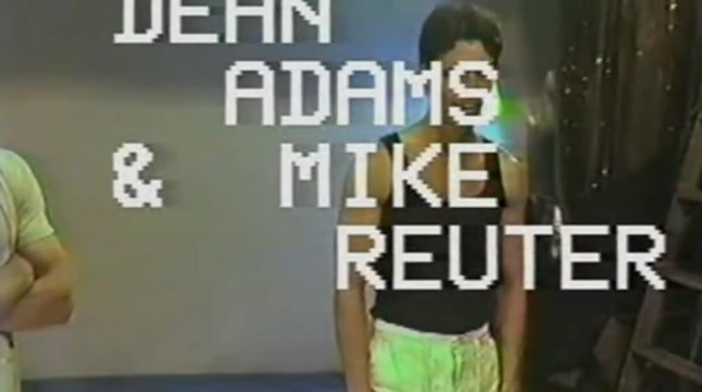 Gay Vintage History - Dean Adams & Mike Reuter Part 1 Liliy Abty Porn Hindi
