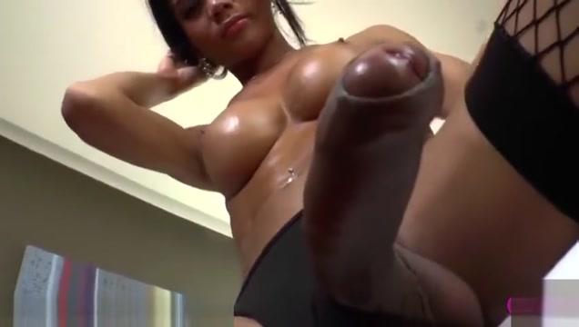Beautiful ladyboy cums