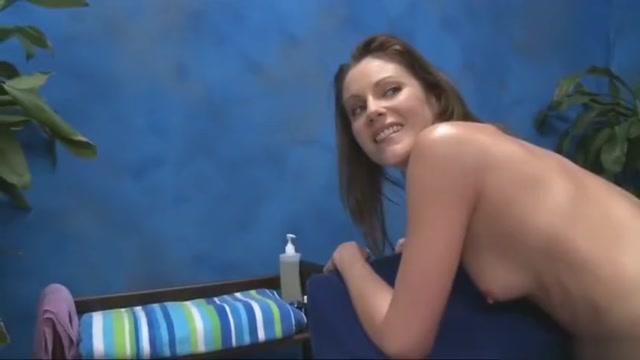Nice unexpected creampie Naked girl in bandana