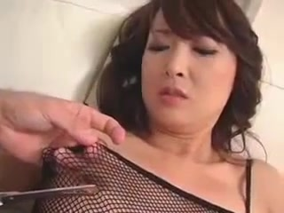 Kinky Asian Milf In Fishnets Has A Tight Peach Needing To B Mature chubby 38c all natural boobs