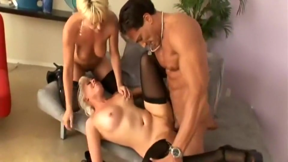 Two blonde milfs enjoy hardcore sex with one man mature amateyr homemade videos