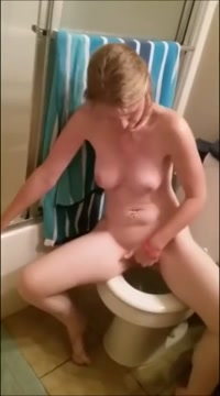 Filming My Hot Wife Masturbating In The Bathroom Spooning porn redhead movie