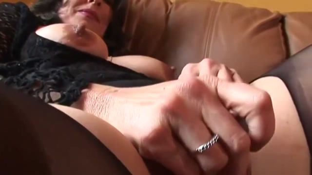 Les Mature Gets Banged With Sex Toys breast enhancement and implants
