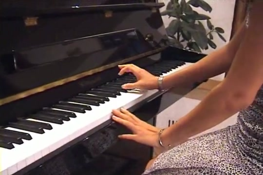 La lecon de piano avec champignon