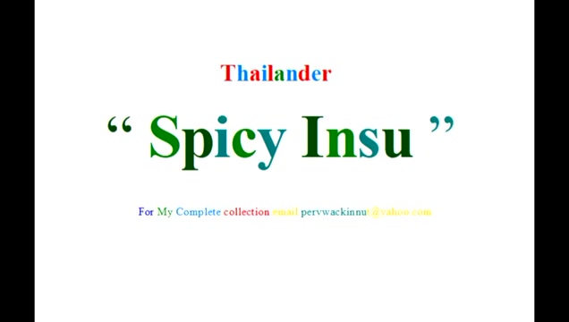 Spicy Insu from Thailand Horny cuties are using sex toys