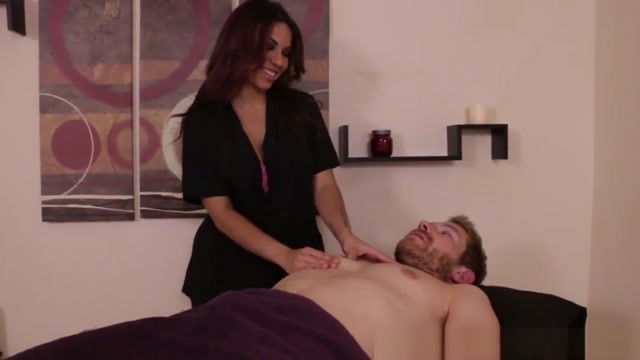 Redhead Masseuse Dominating Over Her Client