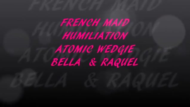 Maid Atomic Wedgie Humiliation