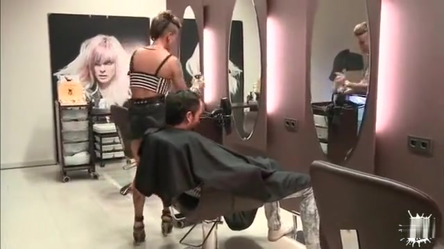 David Is Getting His Hair Cut By The Dirty Slut Baby Reed Squirt free porn tube videos free squirt sex tube movies