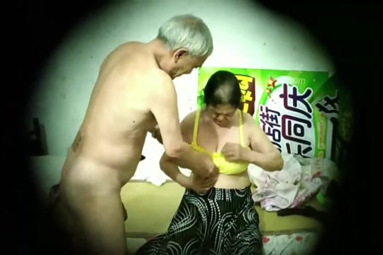 Asian old man mature couple hidden camera ?? ??? beauty salon special services 2018
