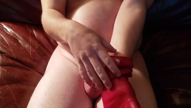 Elbow Length Red Leather Gloves Masturbation Asian hikaru koto nude