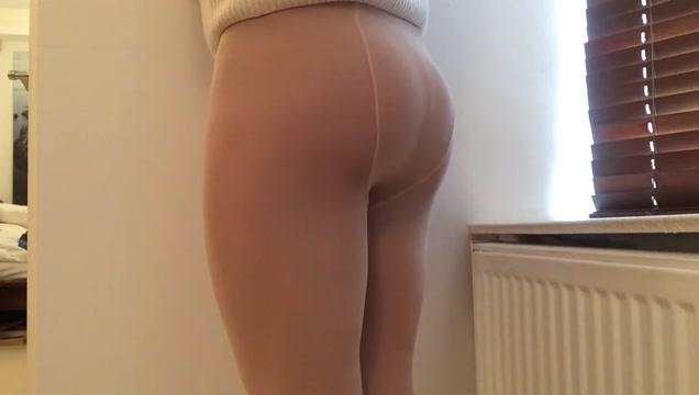 Cock in nylon sheath tan pantyhose . Latina amateur big natural tits force fucked jizzed