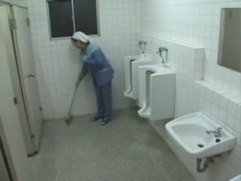 Japanese Cleaning Lady (Censored)