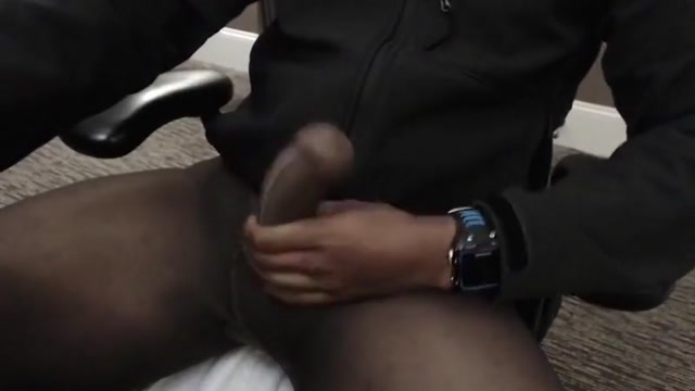 Black seamless pantyhose sheath cum The definishon of slut