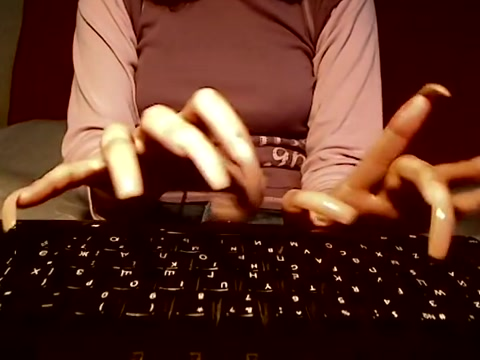 Long Nails Typing What does carbon dating work