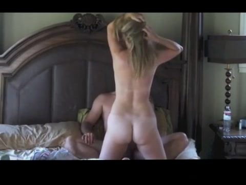 MILF Riding Cock on Hidden Cam