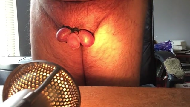 Penispain Upside down tied balls cbt and cumshot Gapping asshole with cum inside