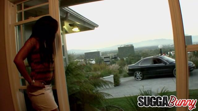 Black Babe Dvae Shares BFs Cock with Gorgeous Step Mommy Anita Peida